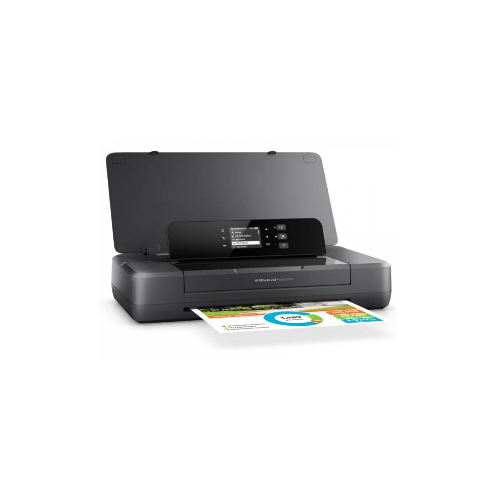 IMPRESSORA PORTÁTIL COLOR HP OFFICEJET 200 WIFI DIRECT