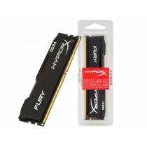 MEMÓRIA DESKTOP GAMER DDR4 HYPERX  FURY 16GB 2400MHZ NON-ECC CL15 DIMM BLACK